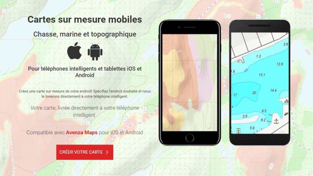 carte pour telephone