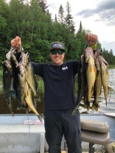 belle pêche au doré