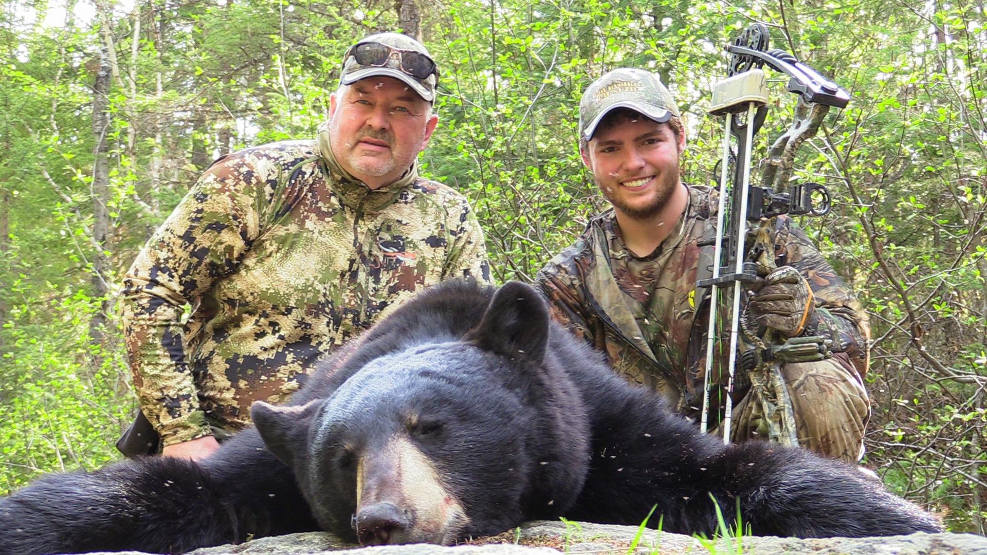 je guide pour la chasse à l'ours