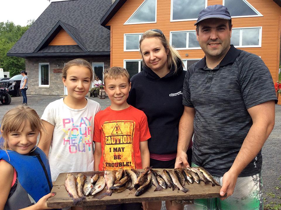 Pêche à la truite en Famille