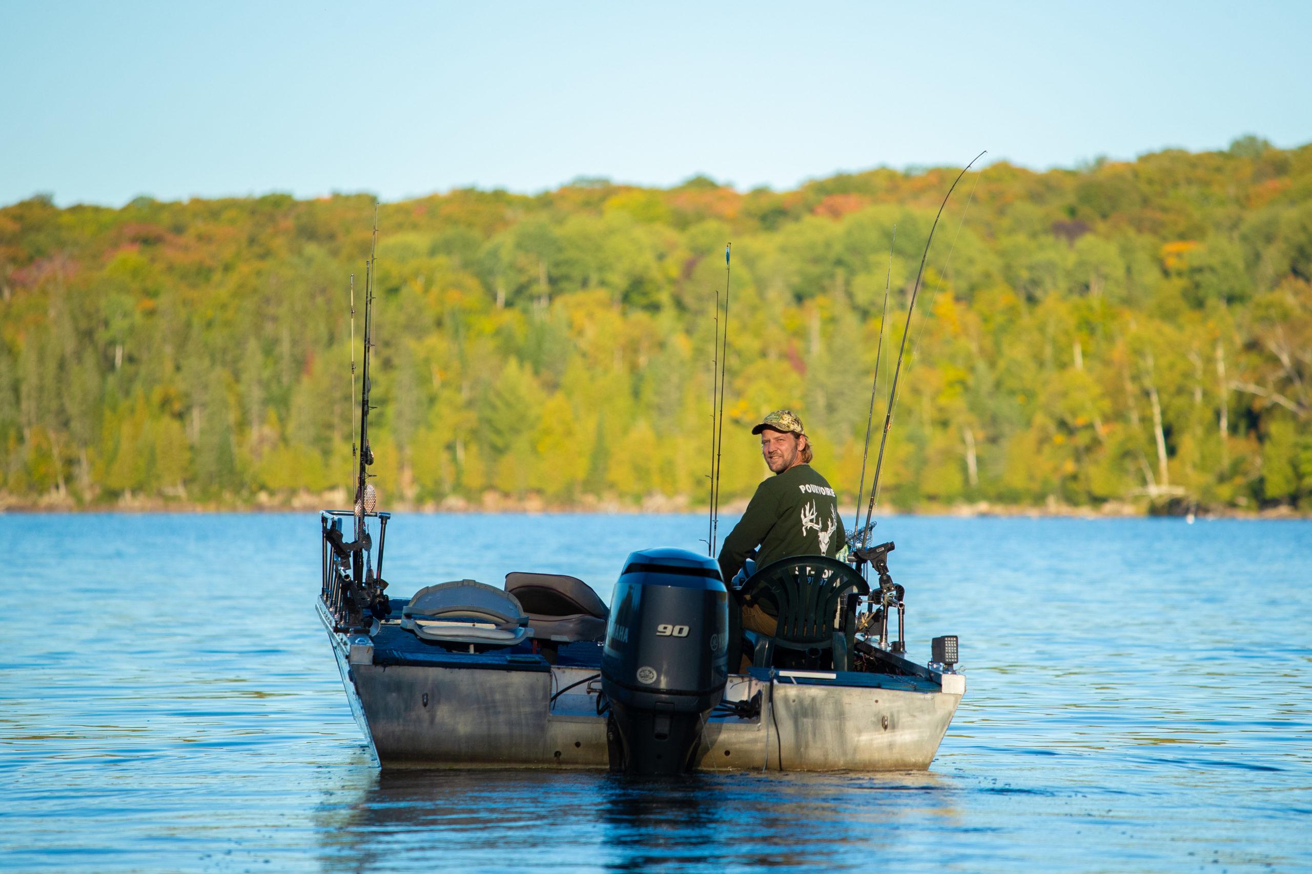 Pêche au lac du cerf