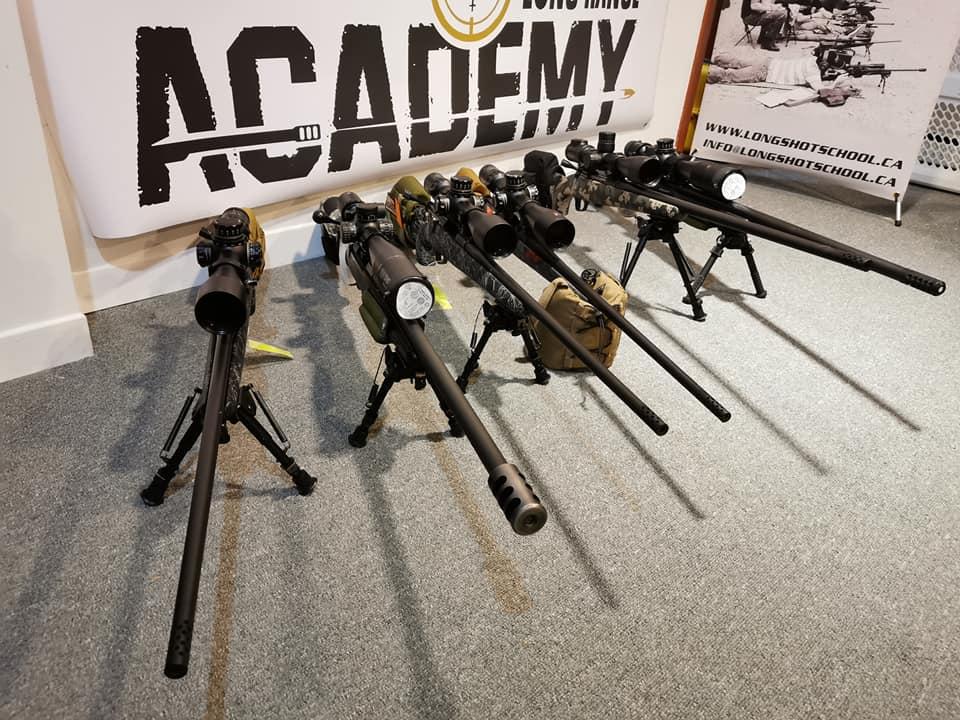 armes pour le tir longue distance