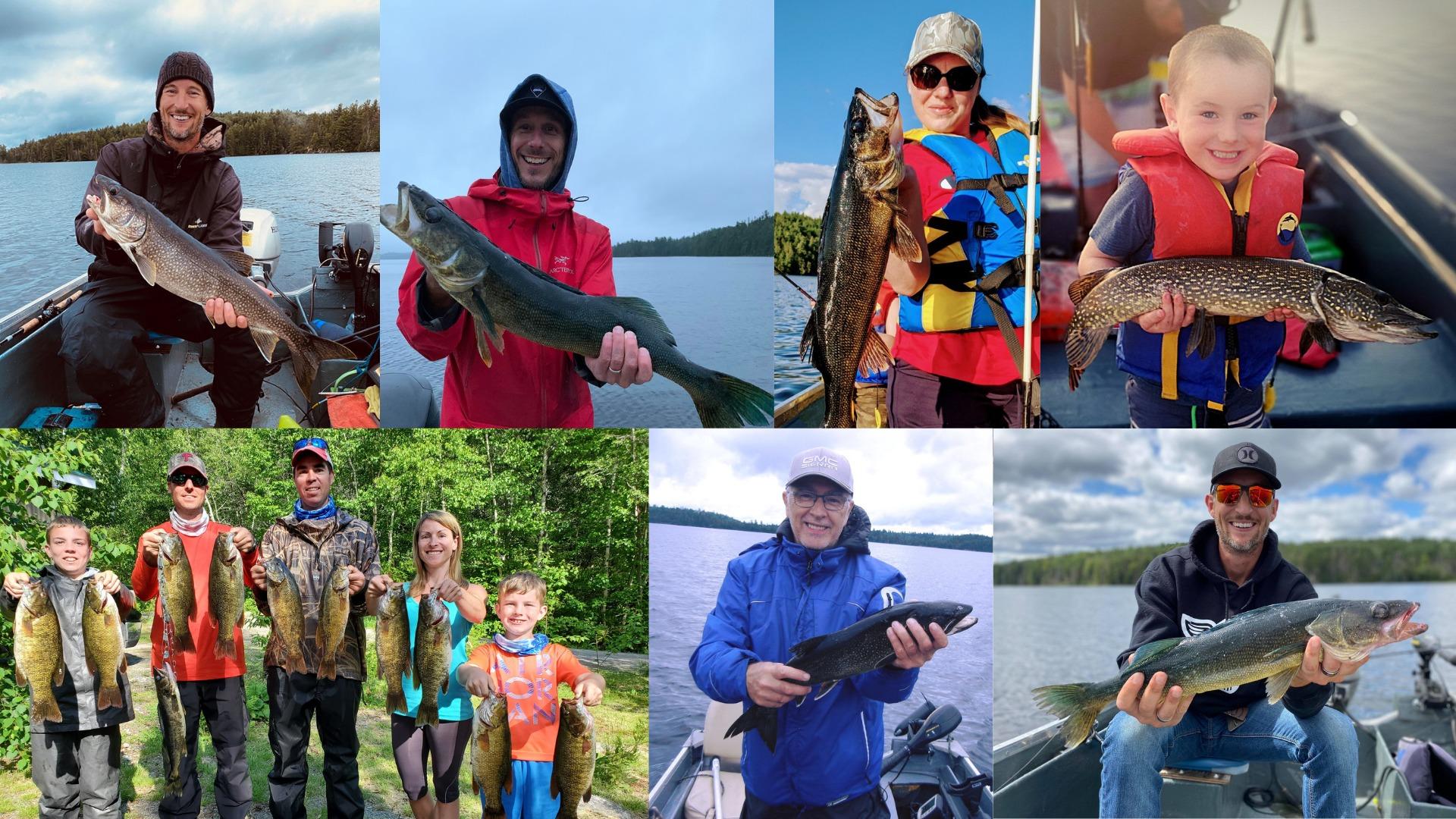 pêche sur le lac kipawa