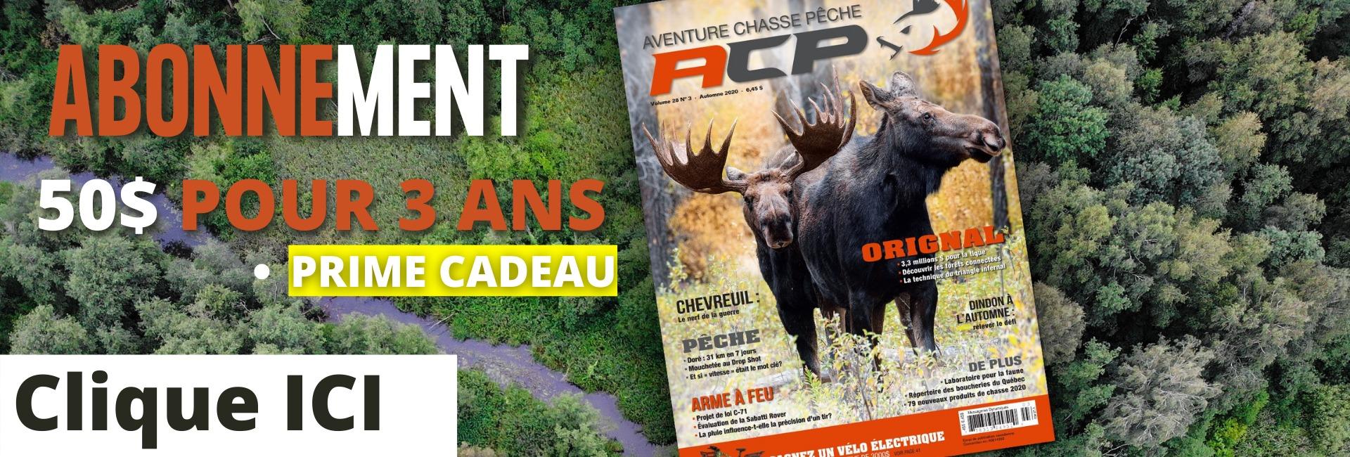 abonnement aventure chasse et pêche