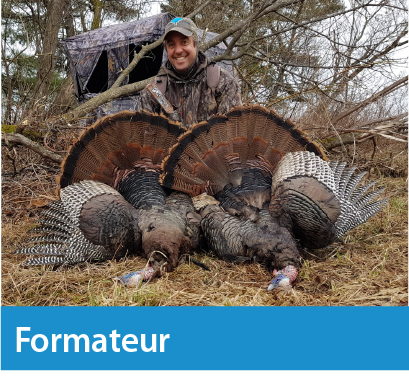formation chasse au dindon