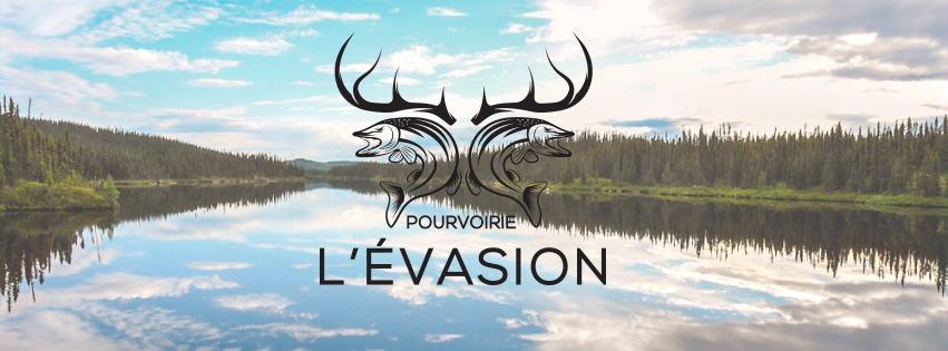 logo pourvoirie l'évasion